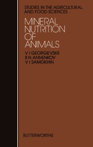 9781483130309: Mineral Nutrition of Animals: Studies in the Agricultural and Food Sciences