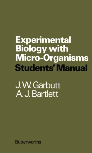 9781483130507: Experimental Biology with Micro-Organisms: Students' Manual
