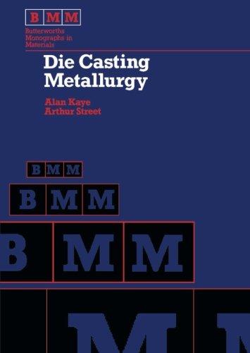 9781483130972: Die Casting Metallurgy: Butterworths Monographs in Materials