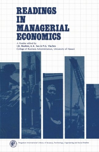 9781483131382: Readings in Managerial Economics: Pergamon International Library of Science, Technology, Engineering and Social Studies