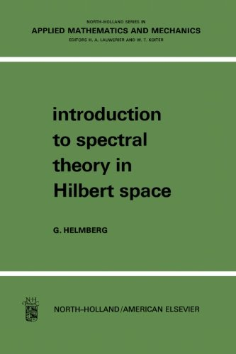 9781483131757: Introduction to Spectral Theory in Hilbert Space: North-Holland Series in Applied Mathematics and Mechanics: Volume 6
