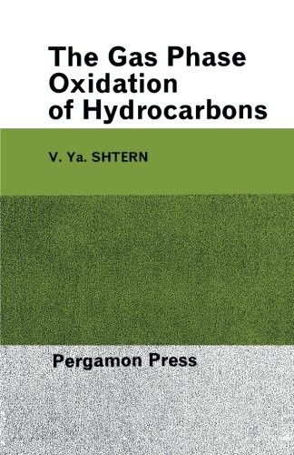 9781483169262: The Gas-Phase Oxidation of Hydrocarbons
