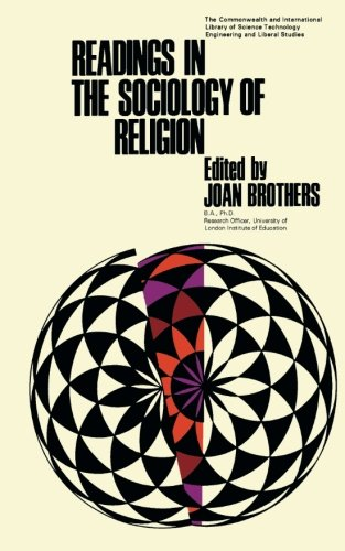 9781483170282: Readings in the Sociology of Religion: The Commonwealth and International Library: Readings in Sociology