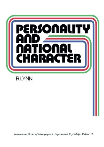 9781483170961: Personality and National Character: International Series of Monographs in Experimental Psychology