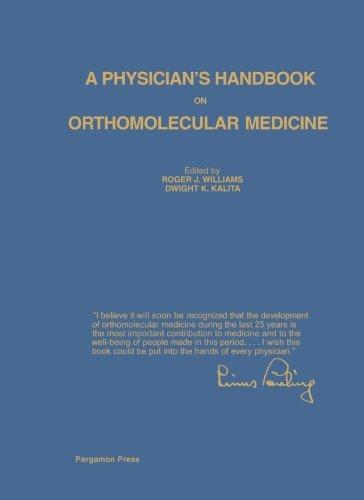 9781483172293: A Physician's Handbook on Orthomolecular Medicine