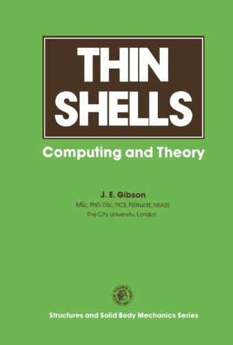 9781483172859: Thin Shells: Computing and Theory