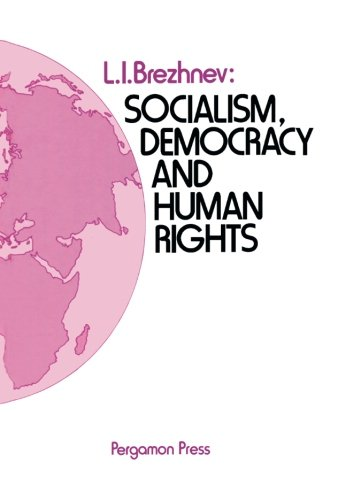 9781483172996: Socialism, Democracy and Human Rights