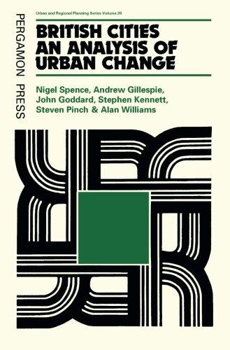 9781483174662: British Cities: An Analysis of Urban Change