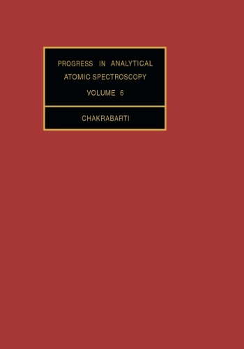 9781483175034: Progress in Analytical Atomic Spectroscopy: Volume 6