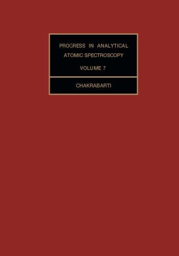 9781483175225: Progress in Analytical Atomic Spectroscopy: Volume 7