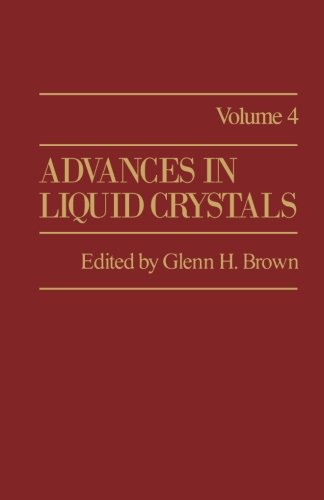 9781483175553: Advances in Liquid Crystals: Volume 4