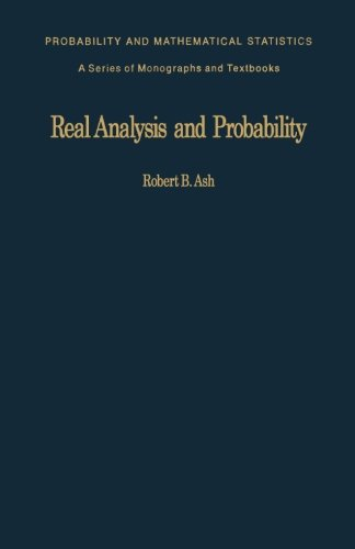 9781483175614: Real Analysis and Probability: Probability and Mathematical Statistics: a Series of Monographs and Textbooks