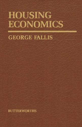 9781483176758: Housing Economics