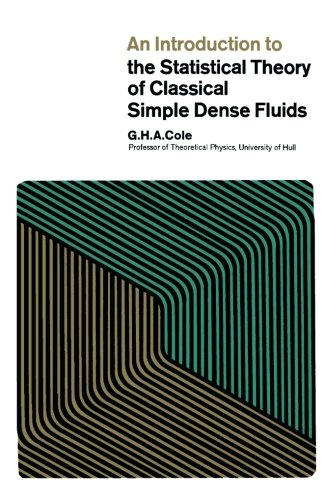 9781483201160: An Introduction to the Statistical Theory of Classical Simple Dense Fluids