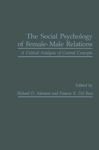 9781483202778: The Social Psychology of Female-Male Relations: A Critical Analysis of Central Concepts
