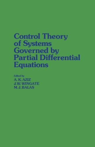 9781483202877: Control Theory of Systems Governed by Partial Differential Equations