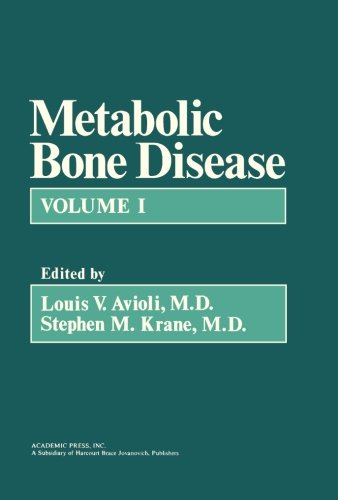 9781483202884: Metabolic Bone Disease: Volume 1