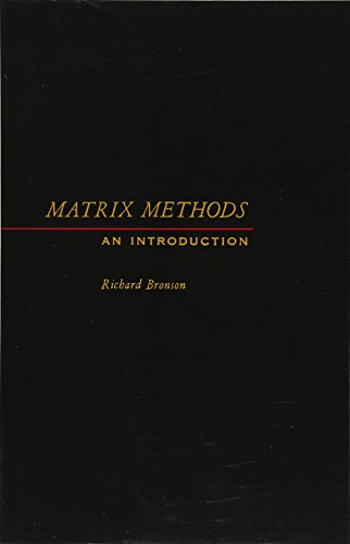 9781483203188: Matrix Methods: An Introduction