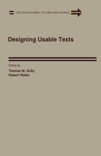 9781483204239: Designing Usable Texts