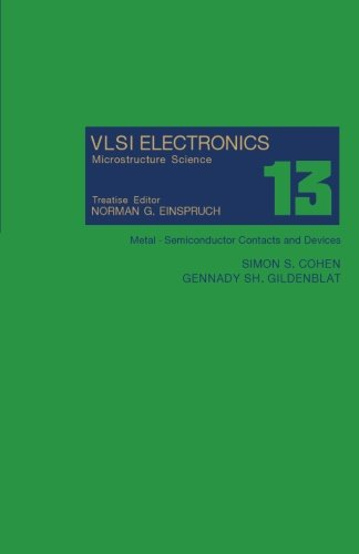 Metal - Semiconductor Contacts and Devices: VLSI: Simon S. Cohen