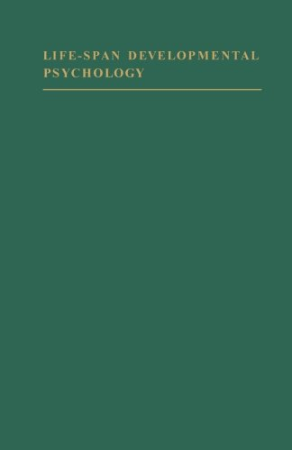9781483204512: Life-Span Developmental Psychology: Research and Theory