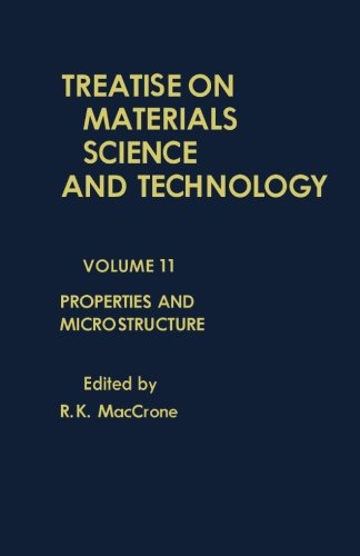 9781483204772: Properties and Microstructure: Treatise on Materials Science and Technology, Vol. 11 (Volume 11)