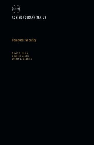 9781483204949: Computer Security