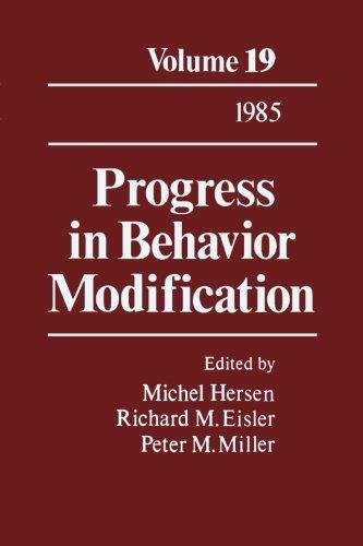 9781483205762: Progress in Behavior Modification: Volume 19