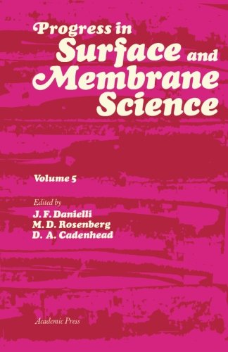 Progress in Surface and Membrane Science: Volume