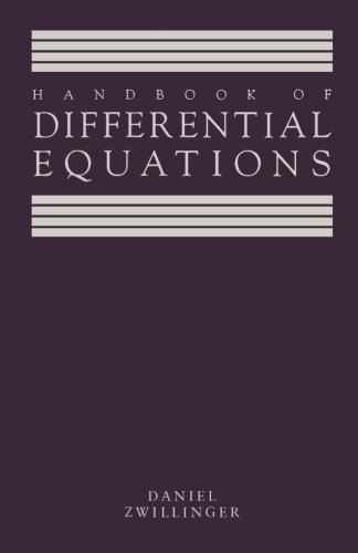9781483207537: Handbook of Differential Equations