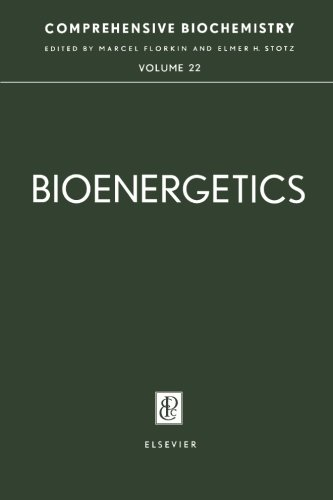 Bioenergetics: Comprehensive Biochemistry, Vol. 22