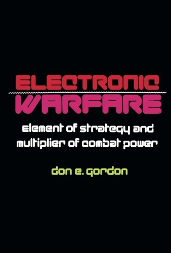 9781483208824: Electronic Warfare: Element of Strategy and Multiplier of Combat Power