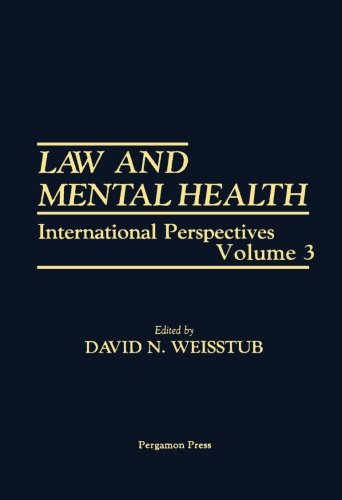 9781483209128: Law and Mental Health: International Perspectives