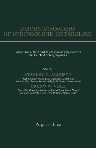 9781483210155: Inborn Disorders of Sphingolipid Metabolism: Proceedings of the Third International Symposium on the Cerebral Sphingolipidoses