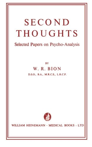 9781483210261: Second Thoughts: Selected Papers on Psycho-Analysis