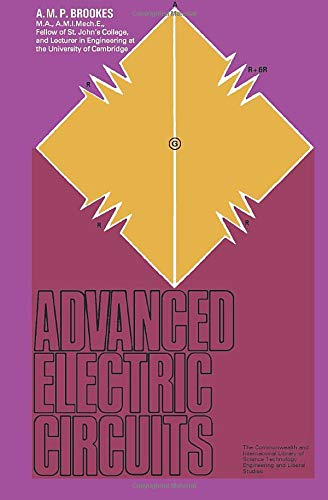 9781483213491: Advanced Electric Circuits