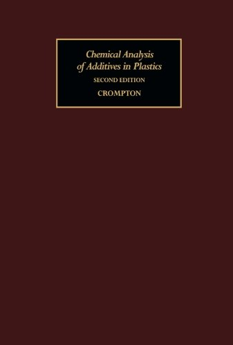 9781483233956: Chemical Analysis of Additives in Plastics (Volume 46)