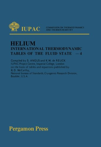 International Thermodynamic Tables of the Fluid State