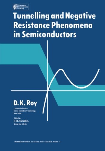 Tunnelling and Negative Resistance Phenomena in Semiconductors: D. K. Roy
