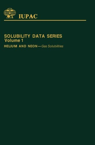 9781483234205: Helium and Neon: Gas Solubilities