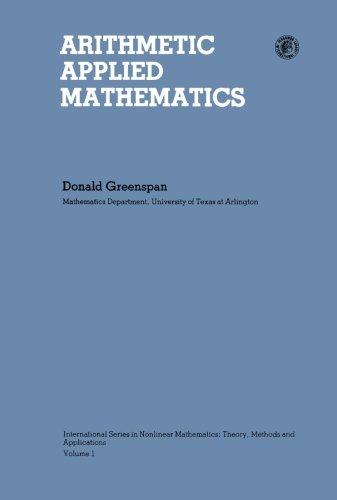 9781483234434: Arithmetic Applied Mathematics