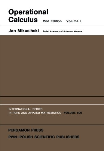 Operational Calculus: Jan Mikusinski