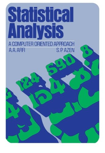 9781483235325: Statistical Analysis: A Computer Oriented Approach