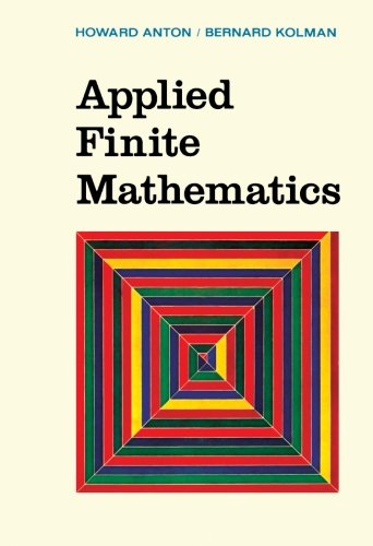 9781483235592: Applied Finite Mathematics