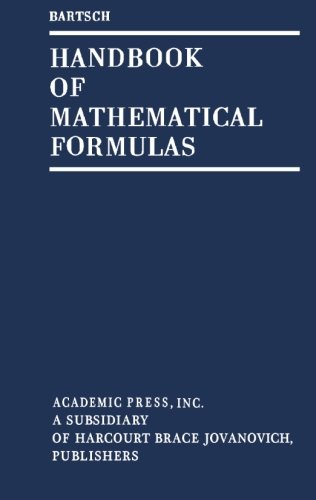 9781483235905: Handbook of Mathematical Formulas