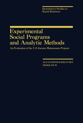 9781483235912: Experimental Social Programs and Analytic Methods: An Evaluation of the U.S. Income Maintenance Projects