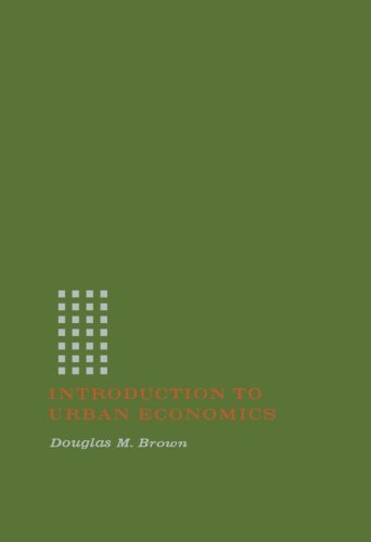 9781483236681: Introduction to Urban Economics