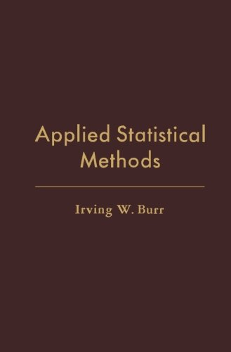9781483236803: Applied Statistical Methods