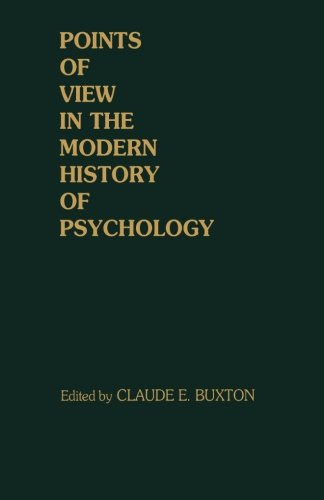 9781483236841: Points of View in the Modern History of Psychology