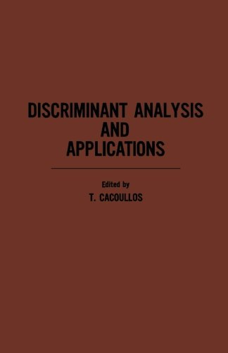 9781483236872: Discriminant Analysis and Applications